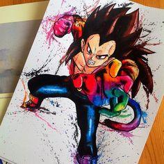 A cultura geek pelas mãos de Lisa-Marie Dragon Ball Gt, Dragon Ball Z Shirt, Samurai Flamenco, Cartoon Movie Characters, Manga Anime, Z Tattoo, Graffiti Doodles, Illustrations And Posters, Beautiful Artwork