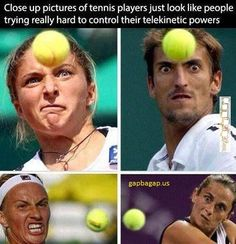 Funny Memes About Tennis Players vs. Balls
