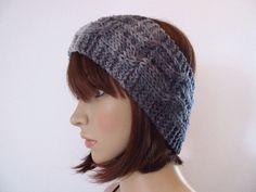 Knitted Hats, Knitting, Style, Fashion, Headboard Cover, Headband Bun, Swag, Moda, Tricot