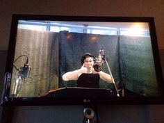 Chris Colfer records his first song of Glee Season 6