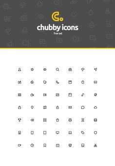 Free Chubby Icons Free Set