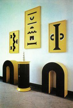 "aqqindex: "" Alessandro Mendini, Installation for Documenta 8, 1987 """