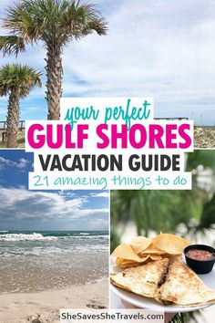 First time to Alabama's Gulf Coast? You're in for an amazing vacation! Here's your guide to the perfect vacation - top activities, places to eat, budget attractions and more. Gulf Shores is a fantastic getaway...I'm excited for you! #alabama #beach #getaway Things to do in Gulf Shores | Gulf Shores Alabama | Gulf Shores Al with Kids | Gulf Shores Vacation | Family Vacation Gulf Shores