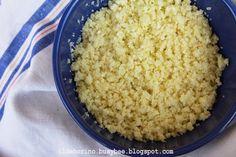 Cous Cous di Cavolfiore or Cauliflower Cous Cous