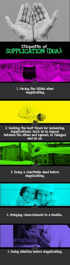 Etiquette of Supplications - IOU Blog