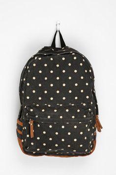 On my Christmas list: Carrot Polka Dot Backpack