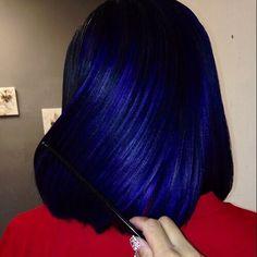 blue hair image