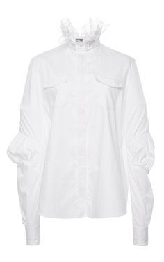 Damasse Button Up Shirt by ALEXIS MABILLE for Preorder on Moda Operandi