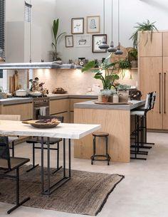 De vtwonen keuken in het vtwonen huis op de vt wonen&design beurs | Fotografie Sjoerd Eickmans | Styling Carlein Kieboom, Liza Wassenaar