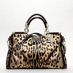 Coach - leopard To my family and friends....my birthday is in 4 months...you should start saving :)