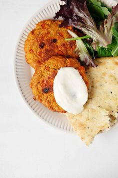 These vegan curried lentil vegetable cakes are a nutritious, versatile plant-based protein made with real food ingredients. You can add them to bowls, serve them with flatbread, pair them with rice and vegetables—there are so many ways to enjoy them! #vegan #plantbased #glutenfree
