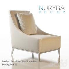 Nuryba Decor Modern Armchair by Angel Cerda