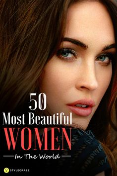 Women should not be just beautiful, but smart as well. Here I present to you the top 50 beautiful women, though not all are known to the rest of the world. These ladies made the world go crazy with their aura and magic. Have a quick look