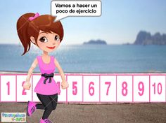 ¿Cuántos pasos he andado? - Penyagolosa e-duca Math For Kids, Alphabet, Preschool, Family Guy, Dado, Education, Fictional Characters, To Tell, Math Workshop