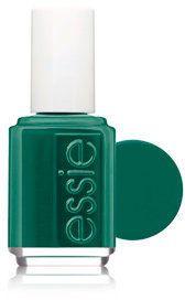 emerald nails...hmmm....