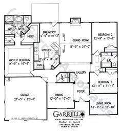 Floor Plans For 3 Bedroom Houses