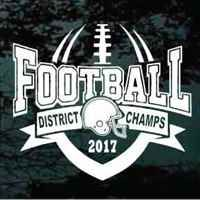 District Champs Football Team decals in small & large sizes can be customized. Apply this custom vinyl District Champs Football Team sticker indoors or outdoors on most smooth surfaces. College Football Gloves, Football Shirts, Football Stuff, Sports Shirts, Football Roster, Football Program, Sports Decals, Vinyl Decals, Cheer Mom