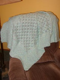 Free+Knitting+Pattern+-+Baby+Blankets+&+Afghans:+Pussy+Foot+Blanket