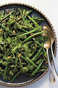 green beans with garlic and miso blistered beans with white miso ...