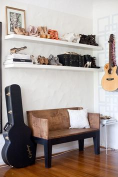 great way to display your pretty shoesies