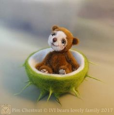 Pim Chestnut By Iveta Rakova - Bear Pile