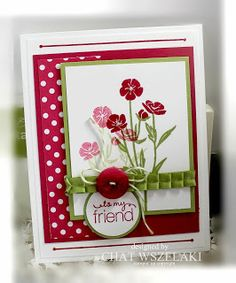 Stampin' Up Wild About Flowers, Me, My Stamps and I