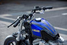 Sportster Cafe Racer, Custom Bikes, Motorcycle, Vehicles, Custom Motorcycles, Motorcycles, Car, Custom Bobber, Motorbikes