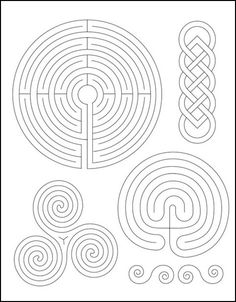 Sublime Stitching: Embroidery Pattern Labyrinth – Fabrications