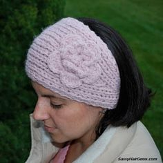 Free Crochet Head Warmer Pattern | With an H hook and worsted weight yarn, ch 4.