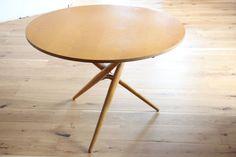 COUCHTISCH COFFEE TABLE 60er 50er Jürg Bally Ahorn Wohnhilfe Zürich