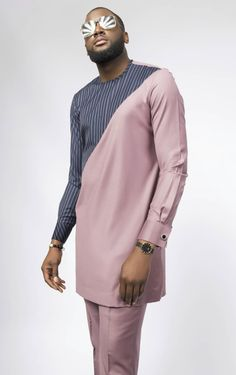 Ebewele Brown Nigerian Men Fashion, African Men Fashion, Mens Fashion, Afro Men, African Attire For Men, African Shirts, Bespoke, Normcore, Menswear
