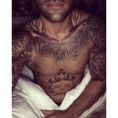 Reality Star Calum Best Gets A Massive Tattoo