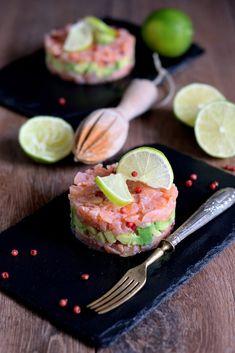 Tartare di salmone affumicato e avocado – In cucina con Giada e Sara