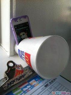 How to make a ghetto iPhone speaker