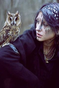 Arianrhod (Celtic) is said to be able to shape shift into a large Owl, and through the great Owl-eyes, sees even into the darkness of the human subconscious and soul. The Owl symbolizes death and renewal, wisdom, moon magic, and initiations. She is said to move with strength and purpose through the night, her wings of comfort and healing spread to give solace to those who seek her.