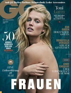 Toni Garrn on GQ Germany November 2016 Cover