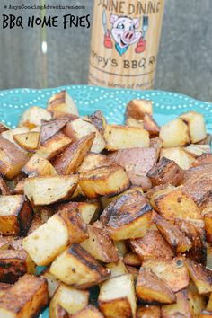 Amy's Cooking Adventures: BBQ Home Fries & Dilly Veggie Dip #CookoutWeek