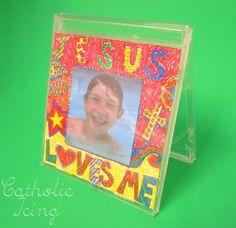 jesus loves me craft for kids