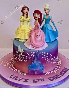 Disney Princesses by Ellie @ Ellie's Elegant Cakery