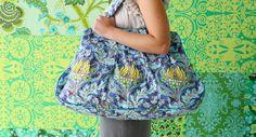 Amy Butler -kassi Amy Butler, Bucket Bag, Autumn, Bags, Accessories, Fashion, Eggs, Handbags, Moda