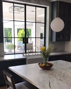 The gold accents are beautiful in this gray kitchen design Gina Holz! Click the image to try our free home … Grey Kitchen Furniture, Home Decor Kitchen, Home Decor Furniture, Kitchen Ideas, Grey Interior Design, Interior Design Kitchen, Gold Interior, Interior Ideas, Unique House Design