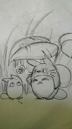 Just draw totoro