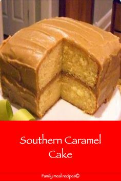 Southern Caramel Cake - Family meal recipes Best Picture For caramel buttercream For Your Taste You Meal Recipes, Cake Recipes, Dessert Recipes, Recipies, Wing Recipes, Just Desserts, Delicious Desserts, Yummy Food, Southern Caramel Cake