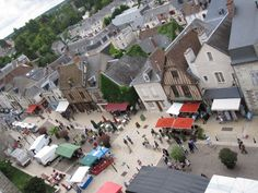 view from Amboise castle_ France_ Valle de la Loire_ Na dúvida, embarque