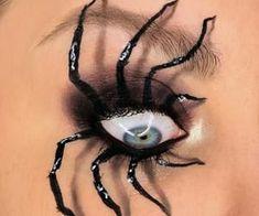 Instagram @nnlindeman Halloween makeup discovered by Nina Halloween Post, Halloween Eyes, Halloween Projects, Eye Makeup Art, Daily Makeup, Makeup Inspo, Makeup Inspiration, Mascara, Eyeliner