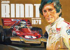 Dan Senkerik Classic Motorsport Art