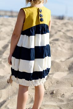 Sunshine Dress sewing pattern - this is gorgeous but I don't like the gathered bottom.
