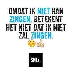 ⚪️⚫️#SMLY. Music Quotes, Words Quotes, Qoutes, Funny Quotes, Love Thoughts, Dutch Quotes, Les Sentiments, Happy Vibes, Sex And Love