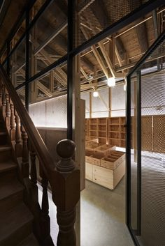 inverted trusses inserted inside historic dry-goods store in taiwan Taiwan, Timber Structure, Amazing Spaces, Dry Goods, Wood Construction, Ground Floor, Interior Architecture, Home Appliances, Building