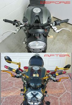 '13 Custom Ducati Monster 1100 EVO Diesel